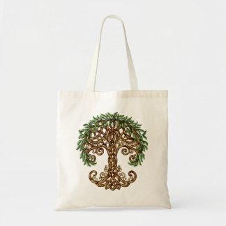 Árvore da sacola da vida bolsa tote