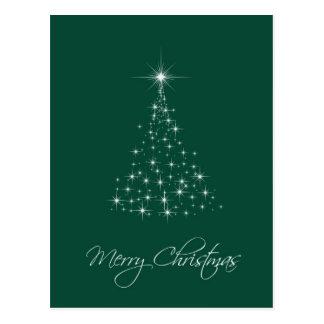 Árvore das luzes cartão postal