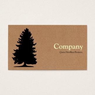 Árvore de abeto - caixa de cartão