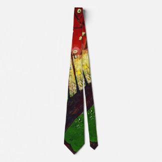 Árvore de ameixa de florescência 1887 gravata