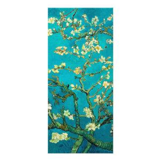 Árvore de amêndoa de florescência de Vincent van 10.16 X 22.86cm Panfleto