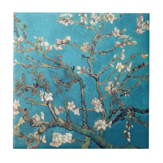Árvore de amêndoa de florescência por Vincent van