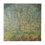 Árvore de Apple por Gustavo Klimt, arte Nouveau do Azulejo De Cerâmica