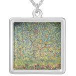 Árvore de Apple por Gustavo Klimt, arte Nouveau do Bijuterias