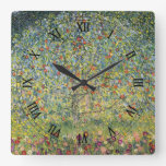 Árvore de Apple por Gustavo Klimt, arte Nouveau do Relógio Para Parede