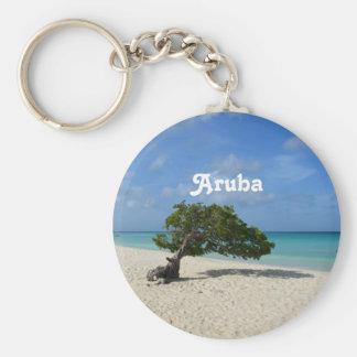 Árvore de Aruba Divi Divi Chaveiro