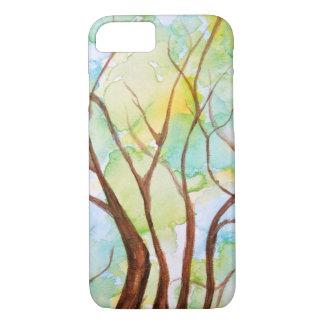Árvore de capas de iphone da vida