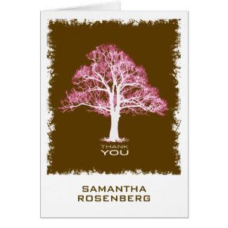 Árvore de cartões de agradecimentos de Mitzvah do