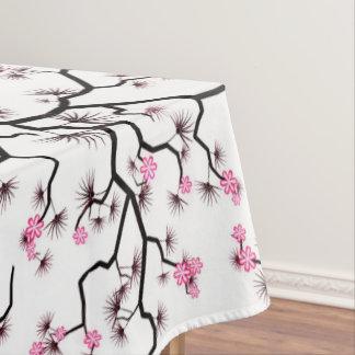 árvore de cereja do tablecloth toalha de mesa