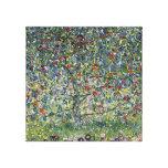Árvore de Gustavo Klimt Apple Impressão Em Tela