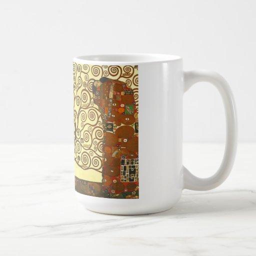 Árvore de Gustavo Klimt da caneca da vida