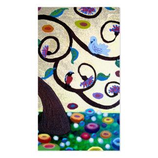 Árvore de Klimt Cartao De Visita