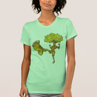 Árvore de Kung Fu T-shirts