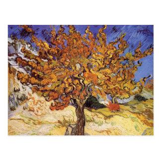 Árvore de Mulberry por Vincent van Gogh Cartão Postal