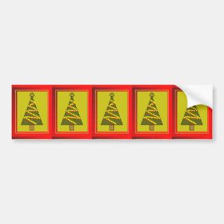 Árvore de Natal Adesivo Para Carro