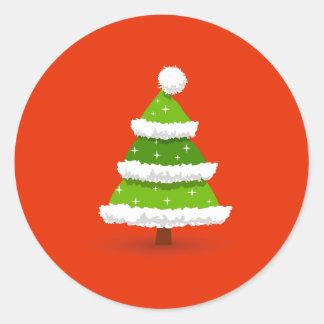 Árvore de Natal bonito Adesivo
