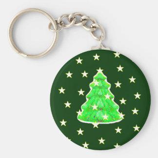 Árvore de Natal com jGibney das estrelas O MUSEU Chaveiro