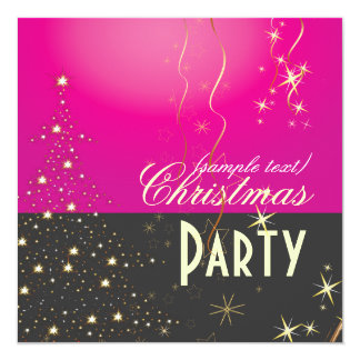 Árvore de Natal/convites de festas Sparkling