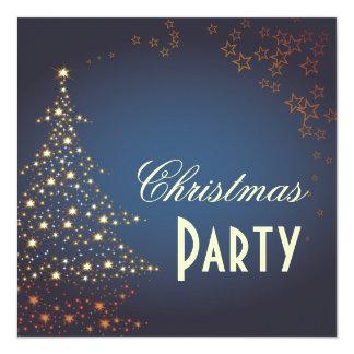 Árvore de Natal/convites de festas Sparkling Convite Quadrado 13.35 X 13.35cm