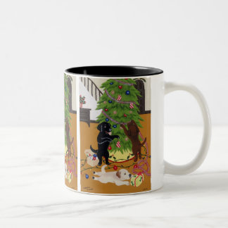 Árvore de Natal de labrador retriever Canecas