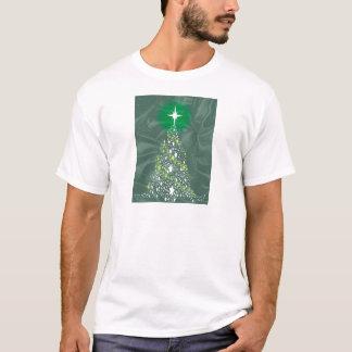 Árvore de Natal de seda Camiseta