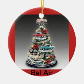 Árvore de Natal do Bel Air em um ornamento do