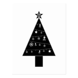 Árvore de Natal do cartão do feriado da DESGRAÇA