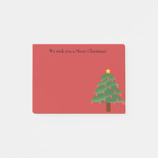 Árvore de Natal na nota de post-it personalizada Post-it Notes