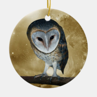 Árvore de Natal pequena bonito da coruja de Enfeite Para Arvore De Natal