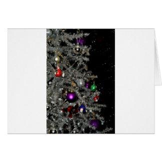 Árvore de Natal Sparkling Cartão