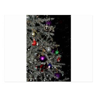 Árvore de Natal Sparkling Cartão Postal