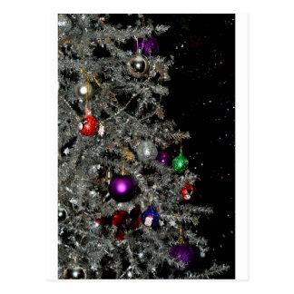 Árvore de Natal Sparkling Cartoes Postais