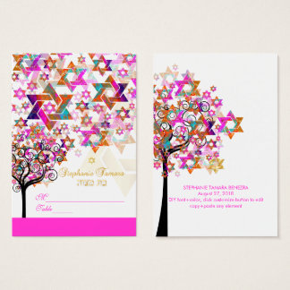 Árvore de PixDezines de cartões do lugar de