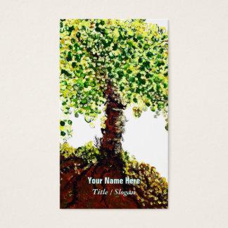 Árvore de vida cartão de visitas
