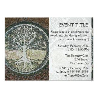 Árvore de vida convites personalizado