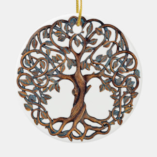 Árvore de vida, enfeites de natal celtas,