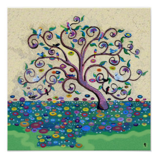 Árvore de vida pôsteres