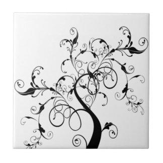 Árvore de vida preto e branco
