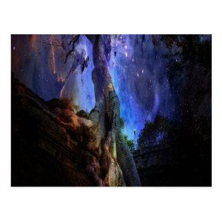 Árvore de vida universal cartão postal
