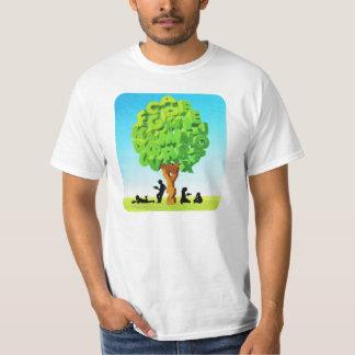 Árvore do alfabeto t-shirts