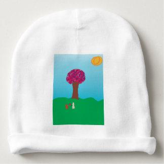 Árvore do coração gorro para bebê