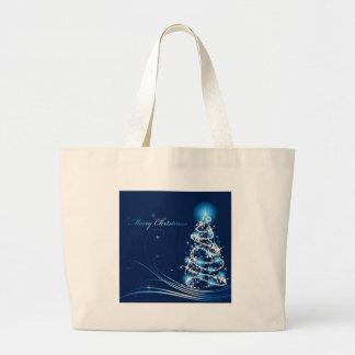 Árvore do Feliz Natal Bolsa De Lona