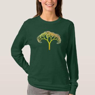 Árvore do Fractal Camiseta