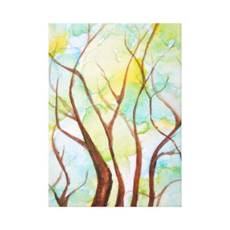 Árvore do impressão das canvas da vida
