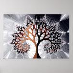 Árvore do inverno poster