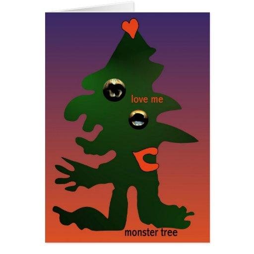 Árvore do monstro por Anjo Lafin Cartao
