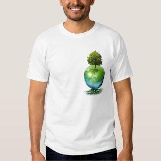 Árvore do mundo - conceito da ecologia t-shirt