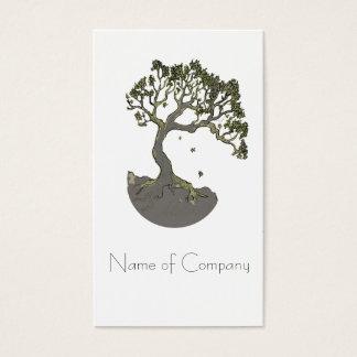 Árvore do zen, cartões de visitas