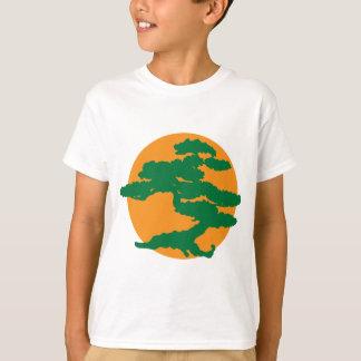Árvore dos bonsais camiseta