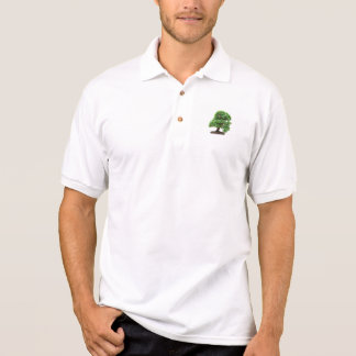 Árvore dos bonsais de Granatum do Punica Camisa Polo